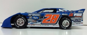 Dennis Erb Jr. #28 1/24th 2015 JR McBride dirt late model