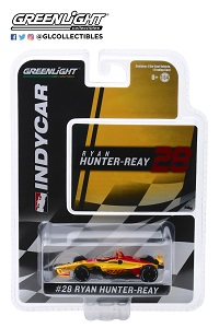 Ryan Hunter-Reay #28 1/64th 2019 Greenlight DHL Indycar
