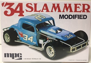 1934 Slammer Modified Stocker 1/25th MPC plastic model kit