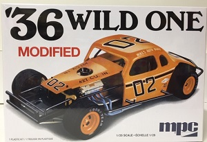 1936 Wild One Modified Stocker 1/25th MPC plastic model kit