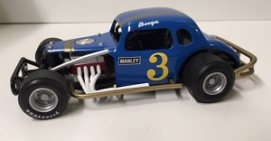 Bugsy Stevens #3 1/25th Nutmeg 1937 Chevy Modified Coupe Issue 7