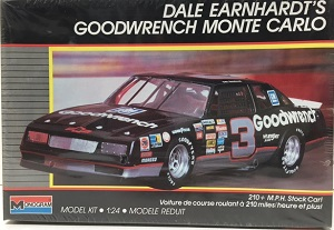 Dale Earnhardt #3 1988 Goodwrench Monte Carlo 1/24th plastic model kit
