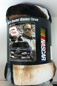 Dale Earnhardt Sr #3 Plush Blanket/Throw