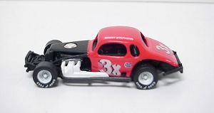 Benny Stephens #3X 1/64th scale coupe modified