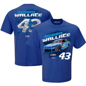 Bubba Wallace #43 2019 STP blue t-shirt