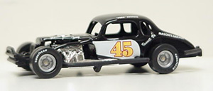 Perk Brown #45 1/64th scale coupe modified