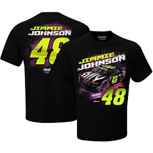 Jimmie Johnson #48  2019 Ally black t-shirt