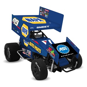Brad Sweet #49 1/18th 2018 R &R Enterprises NAPA sprint car