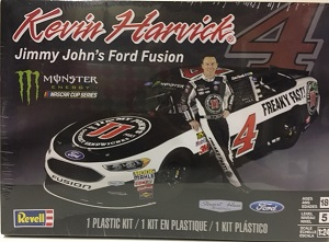 Kevin Harvick #4 Jimmy Johns Ford Fusion 1/25th Revell plastic model kit