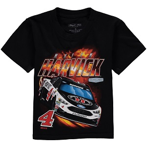 Kevin Harvick #4 Jimmy Johns Ford Fusion black  youth Power tee shirt