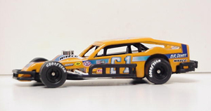 Richie Evans #61 1/64th scale Cavalier asphalt modified