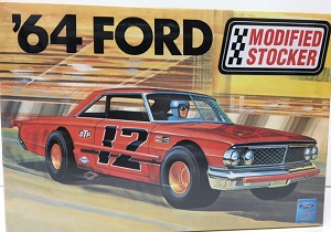 1964 Ford Modified Stocker 1/25th Model King plastic model kit