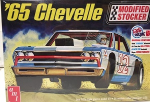 1965 Chevelle Modified Stocker 1/25th AMT plastic model kit
