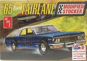 1965 Ford Fairlane Modified Stocker 1/25th AMT plastic model kit