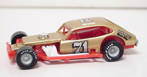 Jim Zacharias #71 1/64th scale custom built Pinto modified