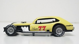 Charlie Kremer #77 1/64th custom-built Pinto modified