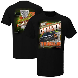 Martin Truex Jr #78 Furniture Row 2017 Monster Energy NASCAR Champion t-shirt