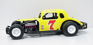 Tom Baldwin #7 1/25th Nutmeg modified coupe
