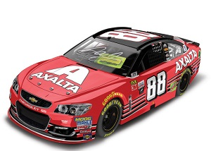 Dale Earnhardt Jr. #88 1/24th 2017 Lionel Axalta Homestead Last Race AUTOGRAPHED Chevy SS