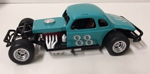 Larry Catlin #88 1/25th custom built modified coupe