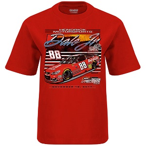 Dale Earnhardt Jr. #88 AXALTA Homestead Last Race red youth tee shirt