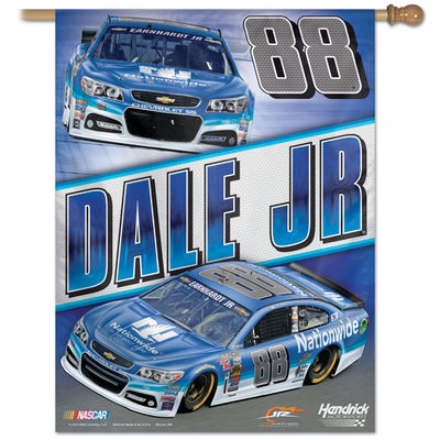 Dale Earnhardt Jr #88 Nationwide  vertical flag