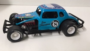 Jim Shampine #8Ball 1/25th Nutmeg modified coupe Issue 15