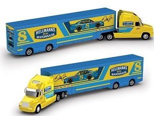 Dale Earnhardt Jr #8 1/64th 2019 Lionel Hellmann's Darlington Throwback Transporter