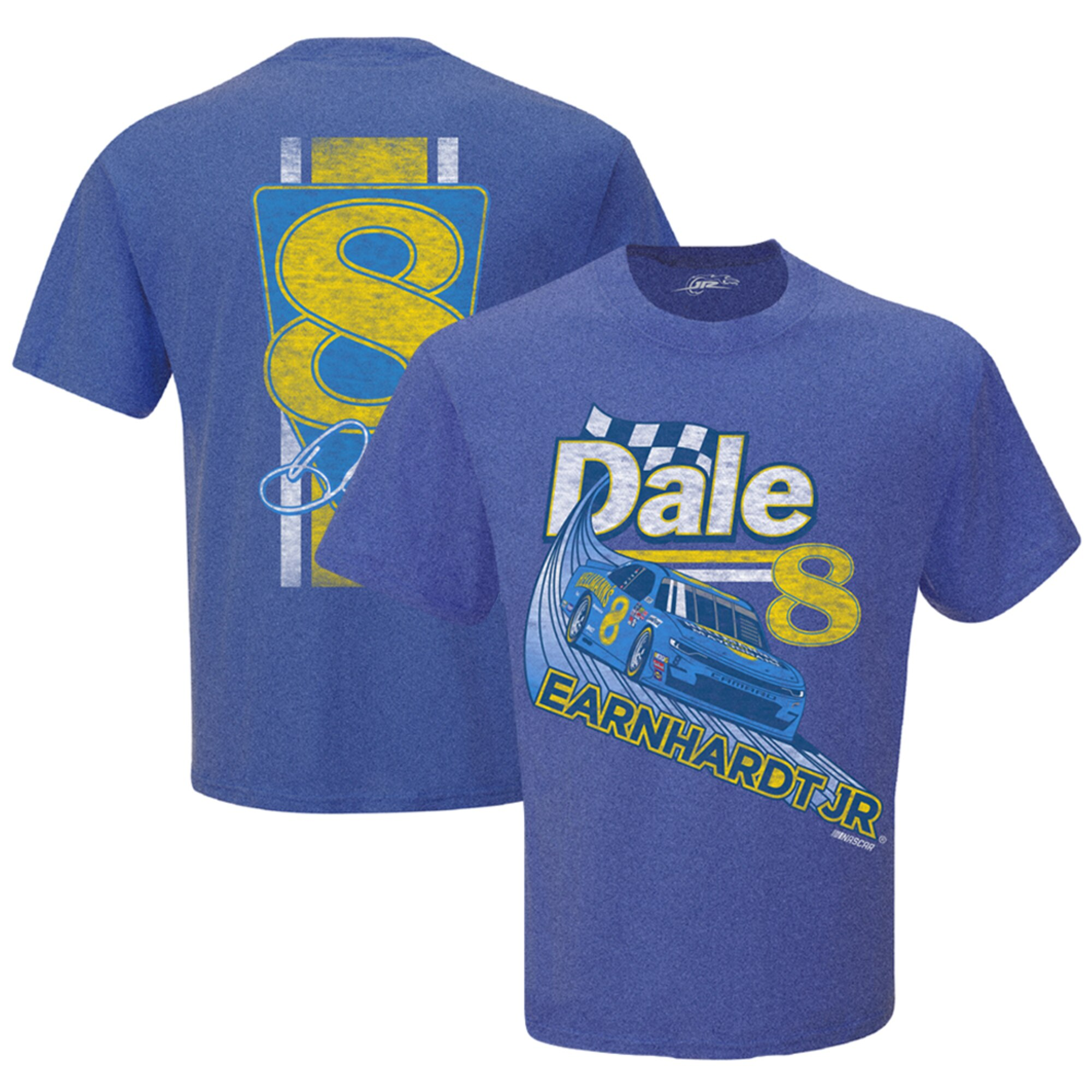 Dale Earnhardt Jr #8 2019 Hellmann's Mayonnaise Darlington Throwback blue t shirt
