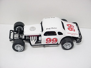 Geoff Bodine #99 1/25th scale custom built modified coupe