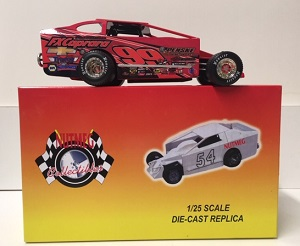 Larry Wight #99 1/25th scale Nutmeg FX Caprara dirt modified