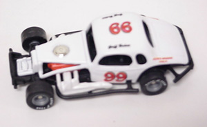 Geoff Bodine #99 1/64th custom-built modified coupe