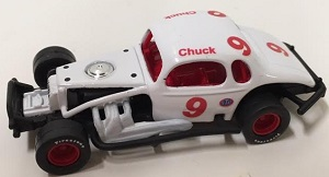 Chuck Boos #9 1/64th  custom-built coupe  modified