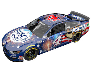 Kevin Harvick #4 1/24th 2020 Lionel Busch Light Patriotic Mustang