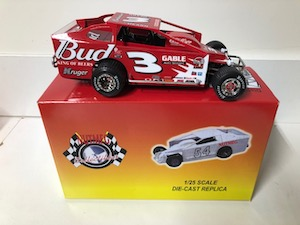 Brett Hearn #3 1/25th scale  2019 Nutmeg 2004 Budweiser dirt modified