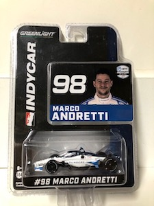 Marco Andretti #98 1/64th 2020 Greenlight Surgere Indycar