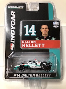 Dalton Kellett  #14 1/64th 2020 Greenlight K-Line Indycar