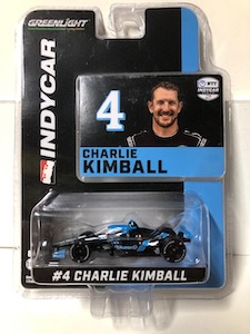 Charlie Kimball #4 1/64th 2020 Greenlight ripKurrent Indycar