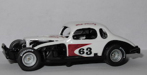 Wes Moody #63 B&M Speed Shop 1/64th custom built coupe modified