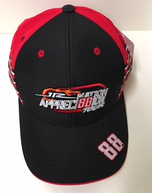 Dale Earnhardt Jr #88 AXALTA HOMESTEAD LAST RACE Fan Appreci88ion Tour red/black hat red twill hat