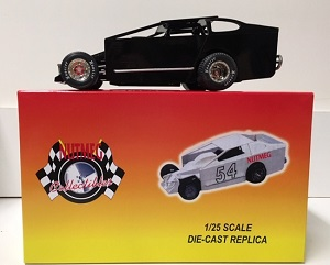 1/25th scale BLACK blank Dirt Modified