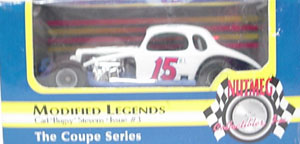 "Carl ""Bugsy"" Stevens #15 1/64th ERTL coupe Modified Legends"