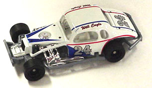 Will Cagle #24 1/64th scale modified coupe