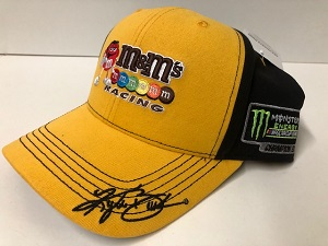 Kyle Busch #18 2019 Monster Energy Championship M&M hat