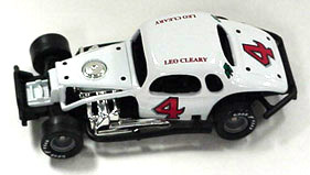 Leo Cleary #4 1/64th scale modified coupe