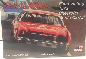 Donnie Allison #1 1/25th Hawaiian Tropic 1978 Chevrolet Monte Carlo winner plastic model kit