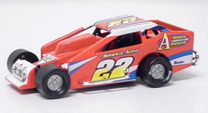 Danny Johnson #27 1/64th scale DIRT modified