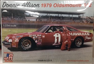 Donnie Allison #1 1/25th 1979 Hawaiian Tropic 1979 442 Oldsmobile model car kit plastic model kit