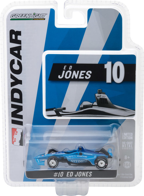 Ed Jones #10 1/64th 2018 Greenlight NTT Data Indycar