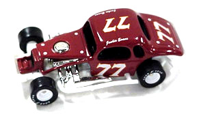 Jackie Evans #77 1/64th scale modified coupe